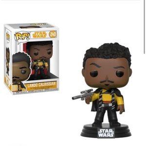 Funko Pop  Disney Star Wars Lando Calrissian 240